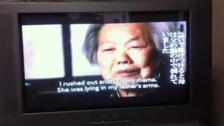映画「南京」の日本語版クリップ4/13 中国人被害者の証言