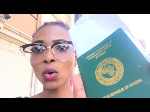 Finally Collected My Nigeria Passport At The Nigeria Embassy In Rome