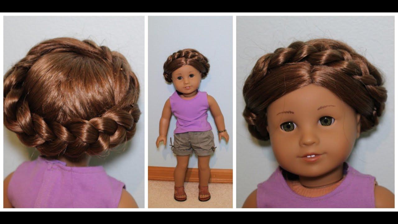 easy summer hairstyle ag dolls