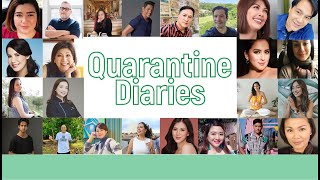 My COVID Quarantine Diaries featuring my celebrity friends // Alice Dixson