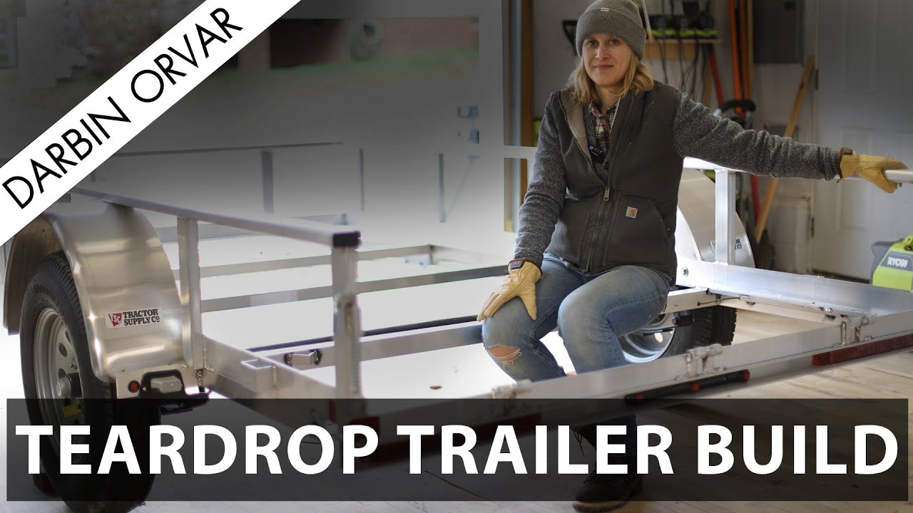 Download Building a Teardrop Trailer Part 2 - Working on the Frame