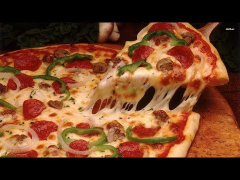 صورة  طريقة عمل البيتزا طريقة عمل البيتزا زي بتاعت المحلات بظبط والطعم فظييييييع 😋Angham talaat طريقة عمل البيتزا من يوتيوب