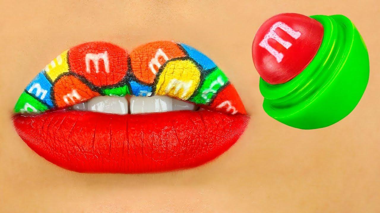 9 DIY Weird Makeup Ideas / Funny Makeup Pranks!