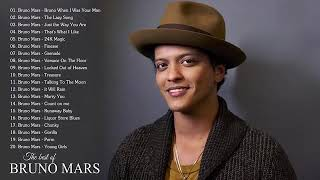 NONSTOP NO ADS Bruno Mars Greatest Hits Full Album   Best Song Of Bruno Mars Compilation
