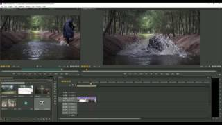 Short film Basic editing telugu tutorial in premier pro