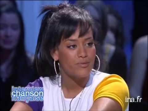 Interview chanson française Amel Bent - Archive INA