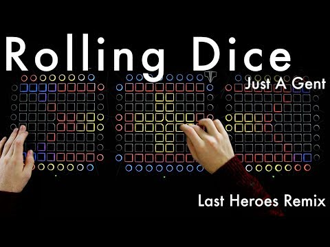 Just A Gent - Rolling Dice (Last Heroes Remix) // Launchpad Cover (4K)