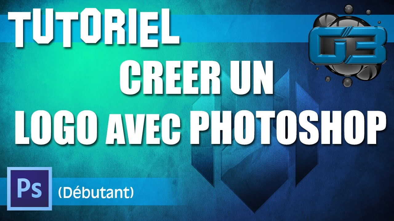 photo creer un logo gratuit avec photoshop