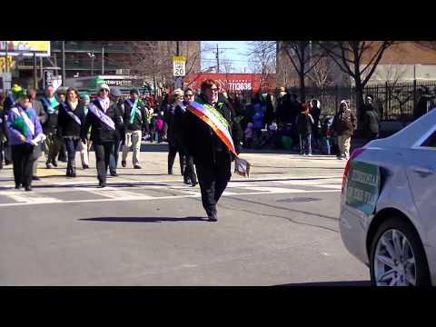 Ancient Order of Hibernians at 2015 St Patrick's Day Parade