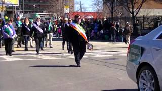 Ancient Order of Hibernians at 2015 St Patrick's Day Parade