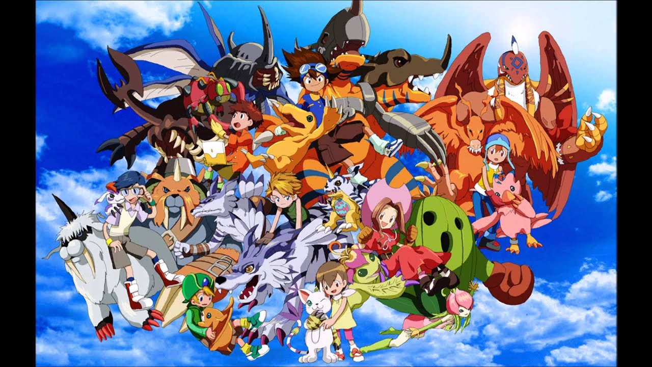 DIGIMON Adventure - Soundtrack German[HD] High Quality Audio - YouTube
