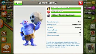 NOVA TROPA NO CLASH OF CLANS! O LANÇADOR!