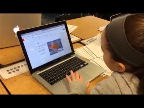 Video: Using Google Draw at Spofford Pond School in Boxford