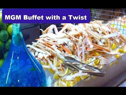 mgm grand buffet dinner with a twist youtube rh youtube com mgm buffet promo code mgm buffet promo code