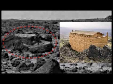 """""""Ноев ковчег"""" обнаружили на Марсе. На фотографиях Марса разглядели """"Ноев ковчег"""". Что это?"""