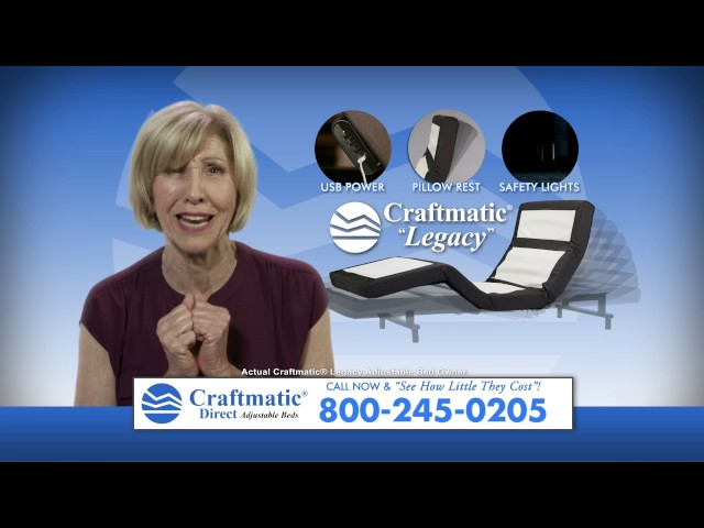 craftmatic® adjustable beds, why a craftmatic adjustable bed