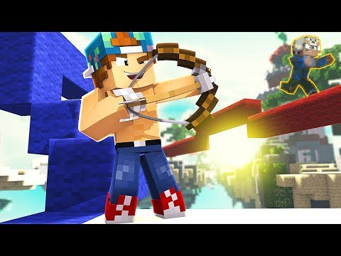 LUCKIEST SHOT EVER!   Minecraft Bed Wars