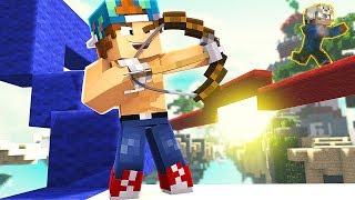 LUCKIEST SHOT EVER! | Minecraft Bed Wars