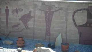 Orem Rock Art Back Yard Rock Wall