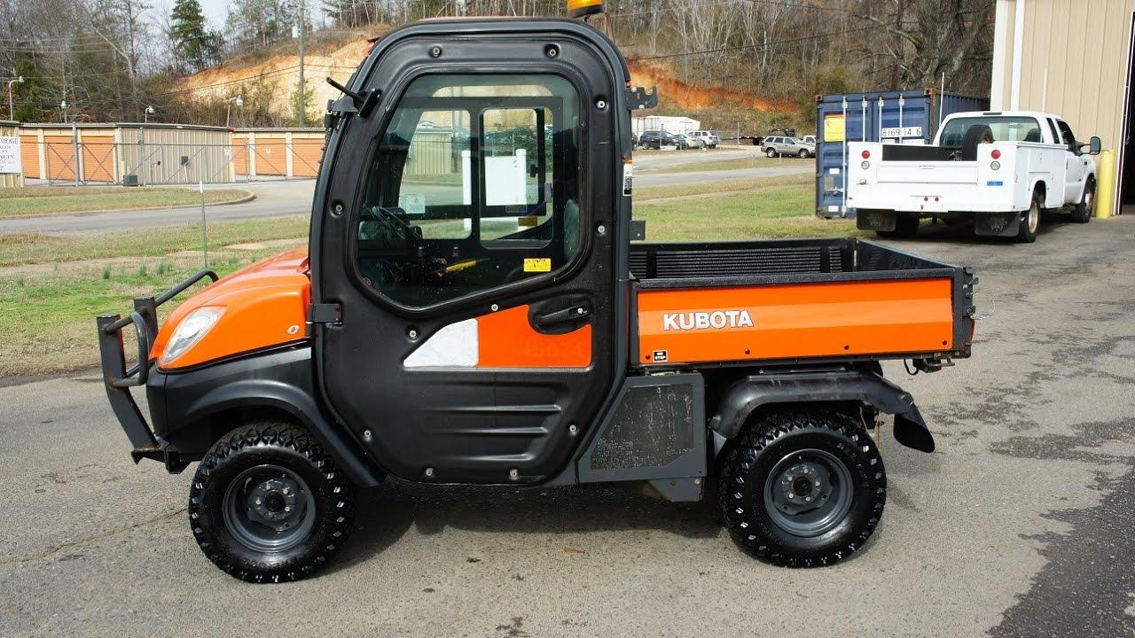 Kubota Rtv 1100 >> 2011 Kubota Rtv 1100 Diesel For Sale