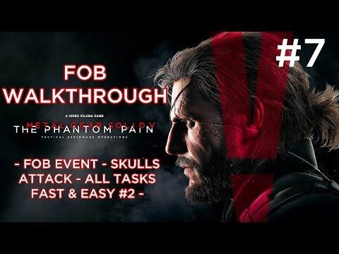 MGSV: TPP - FOB Event - Skulls Attack - All Tasks Fast & Easy #2