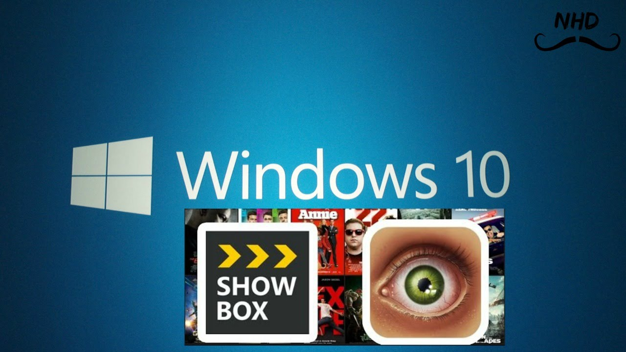 showbox on dell laptop