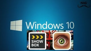 How to download and install showbox on pc and laptop 2015 (windows 10,8,7)