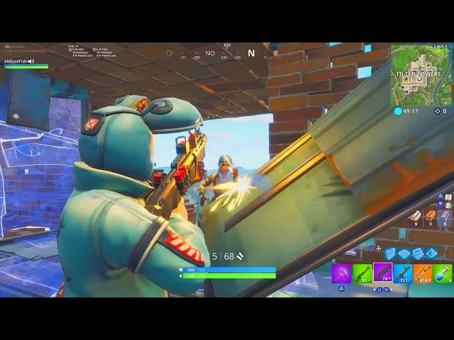 1vs1 contre un rageux arnaqueur qui veut hacker ma chaîne YouTube ! FORTNITE Battle Royale
