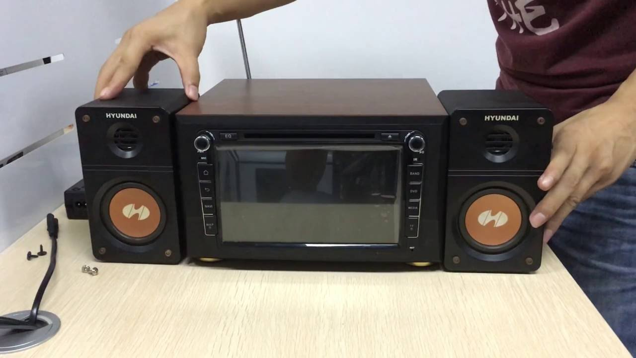 How To Recycle An Old Car Radio Player A Home Audio System Youtube