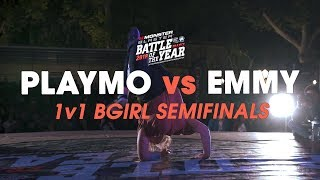 Playmo vs Emmy [1v1 Bgirl Semifinal] // .stance // Battle of the Year France 2018
