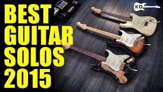 Best Guitar Solos 2015 | #YouTubeRewind