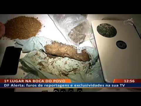 DF ALERTA - Traficantes rodam com drogas sintéticas e maconha cara