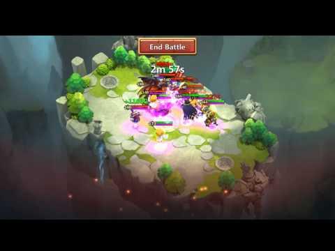 Castle Clash - Lost Realm - Beat 9 Legends Team