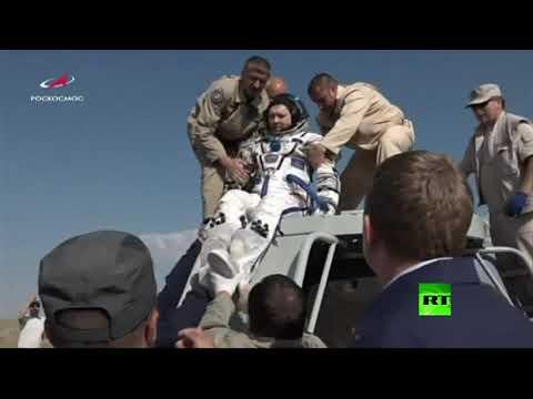 عودة رواد الفضاء إلى الأرض  - 08:53-2019 / 6 / 25