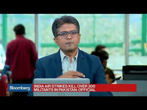 Stocks, Rupee Fall as India Jets Attack Terror Camps in Pakistan