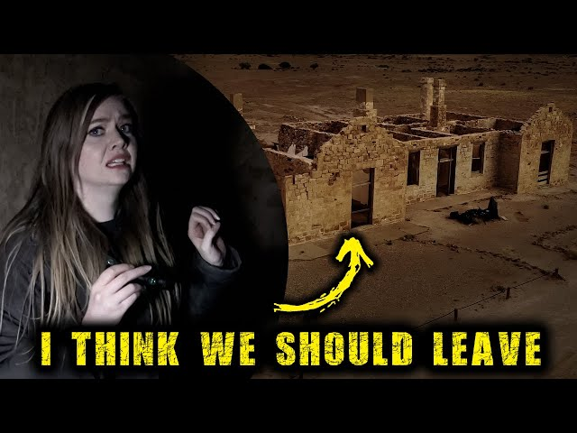 We HAD To Leave | Scary Haunted Ghost Town Paranormal Investigation