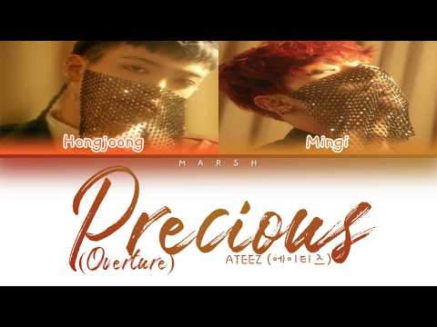 ATEEZ (에이티즈) – Precious (Overture) (Color Coded Lyrics/Han/Rom/Eng/Pt-Br)