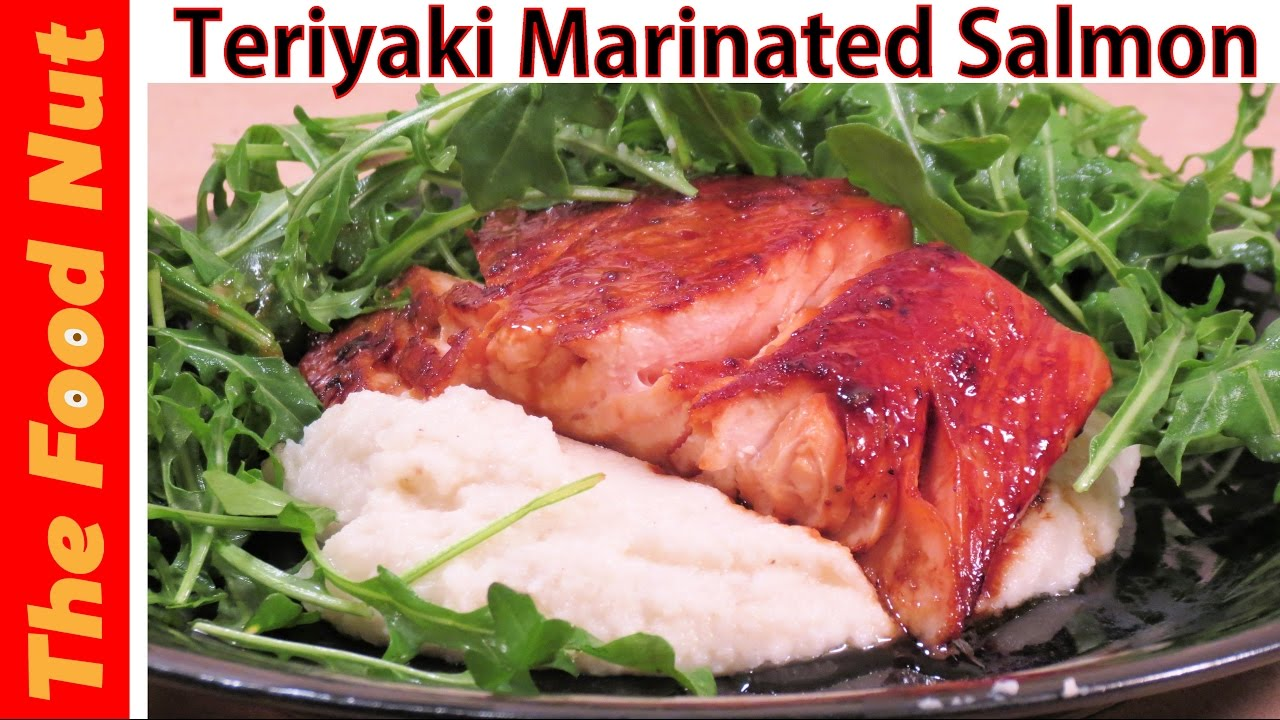 Pan Fried Teriyaki Salmon Recipe  How To Cook Salmon Fillet On Stove With  Sauce  The Food Nut