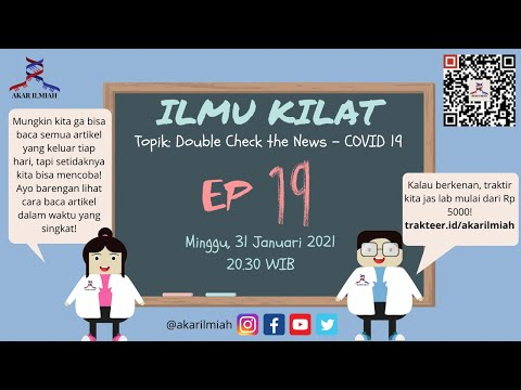 Ilmu Kilat EP 19 - Double Check The News!