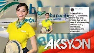 Transwomen flight attendant ng CebuPac
