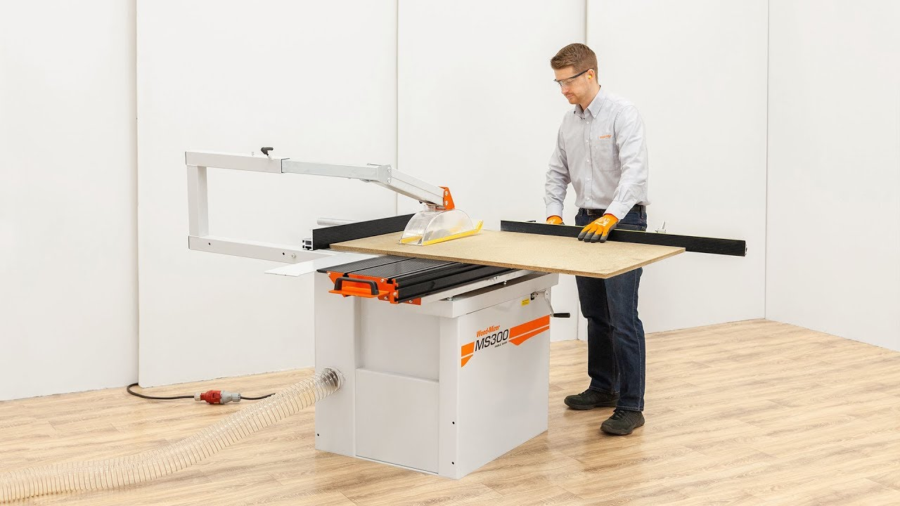 MS300 Table saw | The well-balanced precision table saw with large