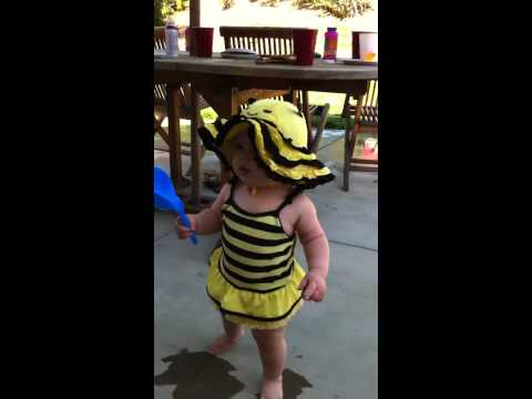 My walking bumble bee