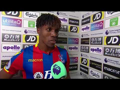 Crystal Palace vs West Ham United 2-2  Wilfried Zaha Post match interview