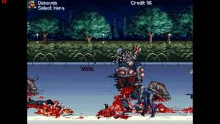 [Game Sample] Streets of Rage Zombies (OpenBor PC)