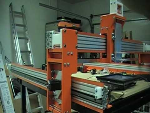 Rack And Pinion Cnc Machine1000ipm Youtube