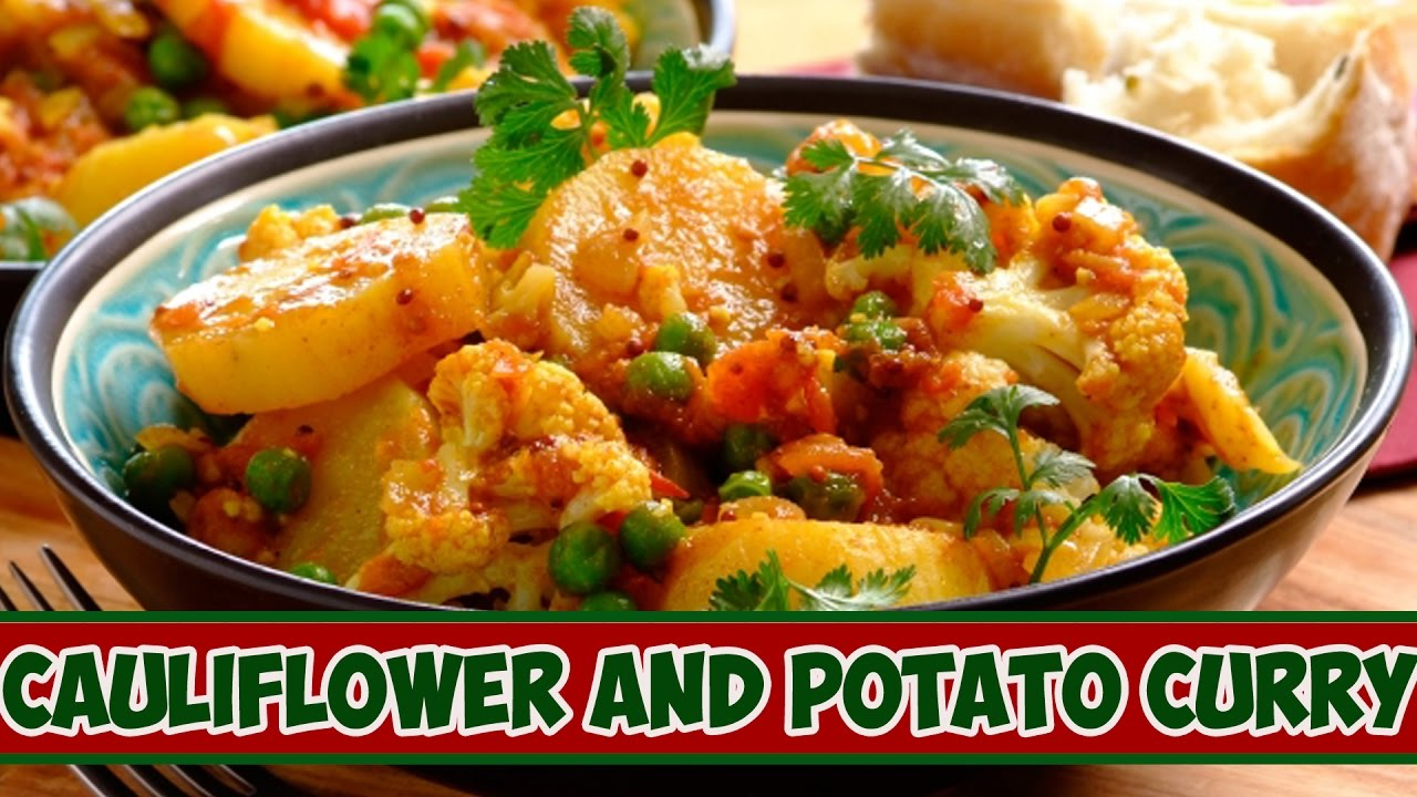 Cauliflower And Potato Curryhow To Make Cauliflower And Potato Curryansari  Kitchen