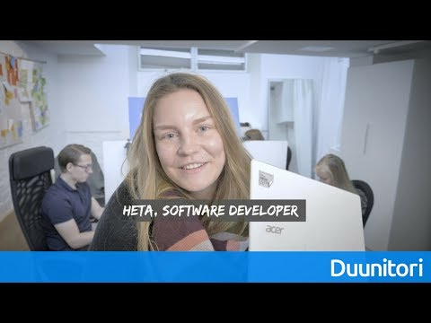 Hae Web Application Developeriksi Duunitorille