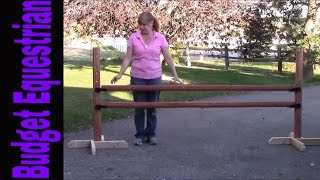 How To: Build A Homemade Horse Jump For Less Than $30