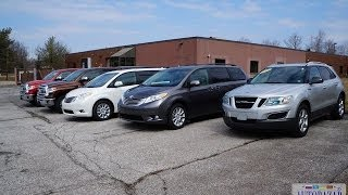 2014 Toyota Sienna Limited видео обзор. Тест драйв 2014 Тойота Сиена Лимитед. Авто из США