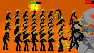 Stick War Legacy Атака стикменов! Clone Armies Stickman стикмен армия!